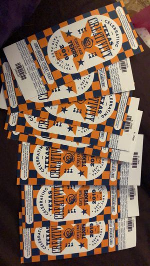 $5 fair tickets 10 in all for Sale in Haltom City, TX
