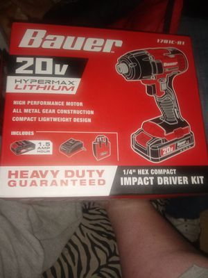 Bauer Impact Driver Kit for Sale in Fresno, CA