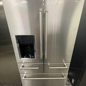 Kitchen aid 5 Door Stain Less Steel Refrigerator for Sale in Menifee, CA
