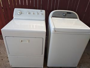 Washer and Electric Dryer for Sale in San Antonio, TX
