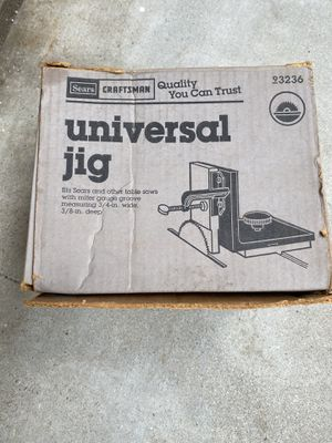 Universal Jig for table saw for Sale in Redlands, CA