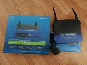 Linksys WiFi Wireless Router WRT54GL for Sale in Monterey Park, CA