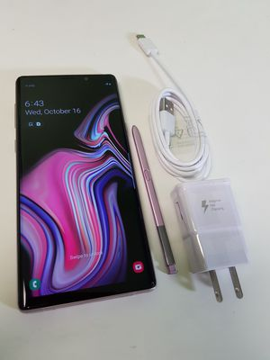 UNLOCKED GALAXY NOTE 9 128GB PURPLE, PERFECT CONDITIONS !!! PRICE IS FIRM !!! for Sale in Miramar, FL