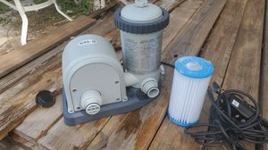 Pool pump and filter for Sale in Hudson, FL