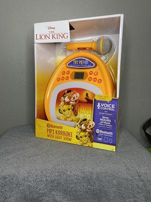 Lion king Karaoke machine for Sale in Anaheim, CA