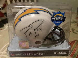 Chargers mini helmet for Sale in Escondido, CA