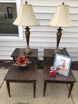 Mid century modern matching side tables for Sale in Virginia Beach, VA