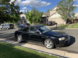 Black 2004 Audi A6 V8 4.2 Quatro for Sale in Henderson, CO