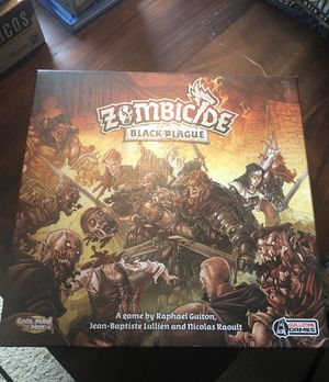 Zombicide: Black Plague Board Game for Sale in Austin, TX