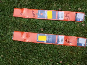 """2 (packs of 3) Husqvarna 54"""" tractor blades $20 each or $35 for both if purchased together for Sale in BETHEL, WA"""