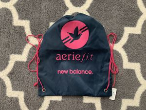 NEW BALANCE athletic gym bag Aerie Fit cinch sack NB drawstring pouch footwear F for Sale in Portland, OR