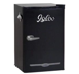 Igloo 3.2 Cu Ft Retro Bar Fridge With Side Bottle Opener, for Sale in Aldie, VA