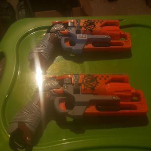 Nerf Zombie Hammershot / Double Strike for Sale in Grain Valley, MO