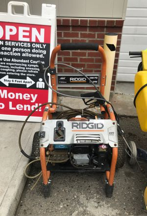 Ridgid Pressure Washer *1599-1* for Sale in Tacoma, WA