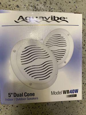 "Magnadyne 5"" dual cone outdoor / marine speakers for Sale in Las Vegas, NV"