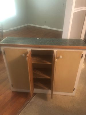 Kitchen cabinet with top for Sale in Glen Raven, NC