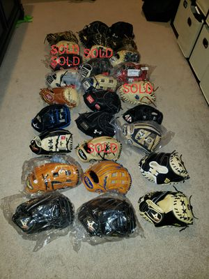 $200-up Wilson Rawlings All-Star Marucci 44 Pro Baseball Gloves for Sale in Riverside, CA