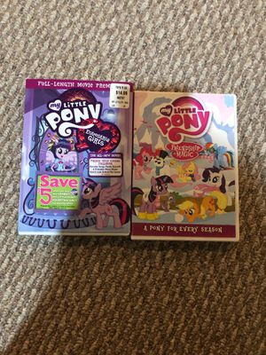 2 My little Pony DVD's for Sale in Springfield, VA