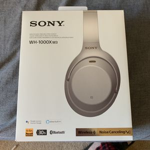 SONY WH-1000XM3 (Used) for Sale in Raleigh, NC