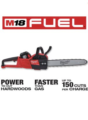 Milwaukee M18 FUEL 16 in. 18-Volt Lithium-Ion Brushless Cordless Chainsaw, Tool Only. New in the Box! for Sale in Mundelein, IL