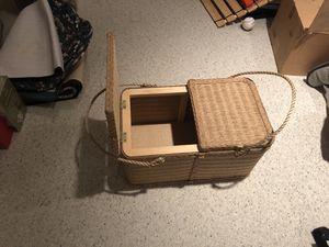 Wicker NEW picnic basket for Sale in Bristow, VA