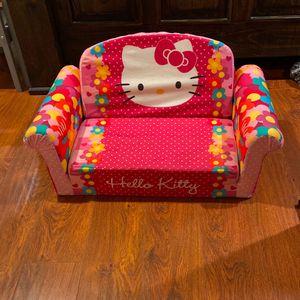 Hello Kitty Kids' 2-in-1 Flip Open Foam Sofa for Sale in Rialto, CA