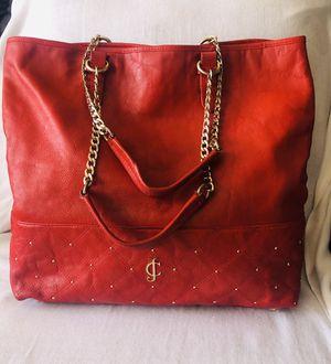 Authentic Juicy Couture Leather Tote Purse Bag Handbag for Sale in El Cajon, CA