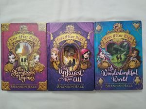 Ever After High Book Series for Sale in Midlothian, IL