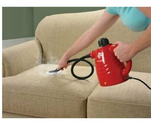 Available Now if You are Viewing -Want to kill Germs, etc..Killem with hot steam - Nearly New Hand-Held Dirt Devil Steam Cleaner - With Attachments for Sale in Phoenix,  AZ