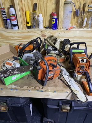 Looking for non running Stihl chainsaws for Sale in Virginia Beach, VA
