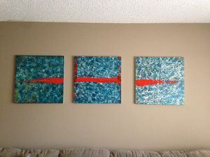 Abstract Art- Trinity for Sale in Tampa, FL