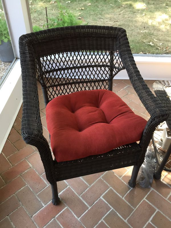 Patio furniture from Lowe's