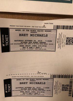 Bret Michaels tickets for Sale in Everett, WA