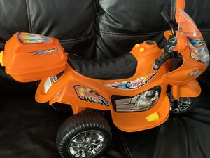 Kids ride-on motorcycle for Sale in Canton, MI