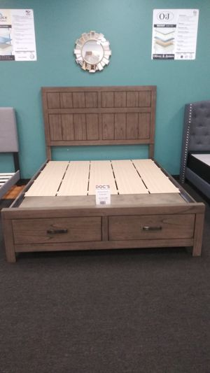 New Queen Storage Bed for Sale in West Columbia, SC