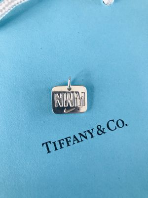 Tiffany & Co. Pre-owned Nike pendant stamped authentic please ask questions thank you for looking Make me an offer for Sale in Redlands, CA