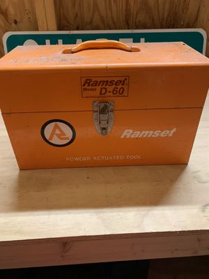 Ramset Metal Tool Box for Sale in Milton, MA