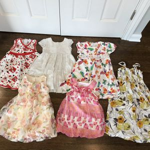 Six Dresses For 4 Year Old Girls for Sale in Glenview, IL