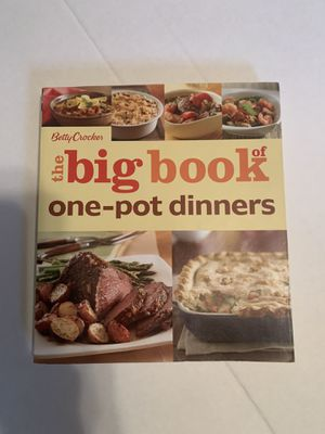 Cookbook. Betty Crocker The big book of one-pot dinners for Sale in Buffalo, MN