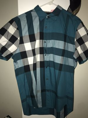 BURBERRY SHIRT Size Medium for Sale in Reston, VA