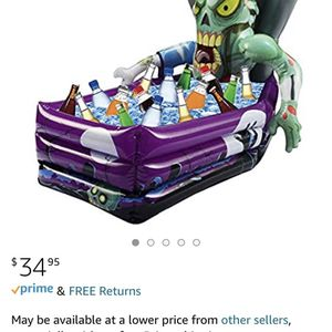 Zombie Cooler Used 1 Time Great For Any Party Type for Sale in Yorba Linda, CA