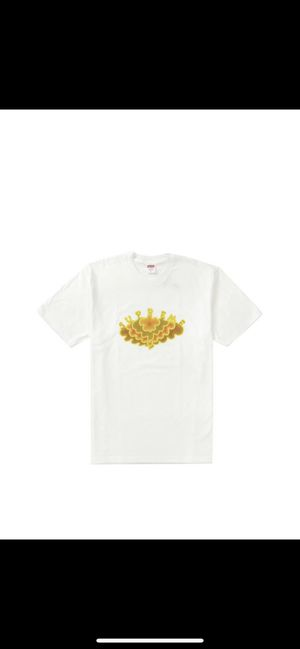 Supreme cloud tee (white) for Sale in Tracy, CA