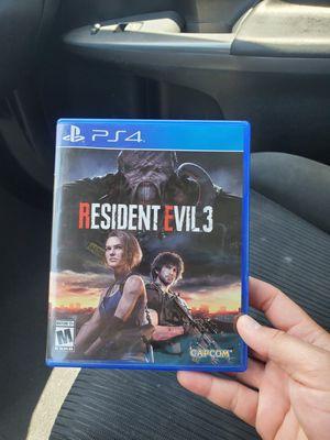 Resident evil 3 $50 for Sale in Kissimmee, FL