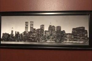 City skyline picture frame for Sale in Diamond Bar, CA