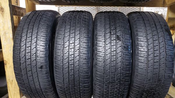 Four good set of Goodyear tires for sale 275/65/18