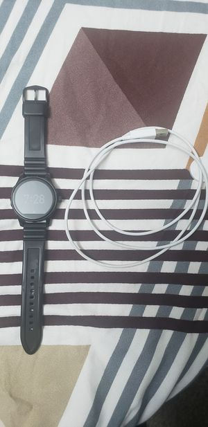 Fossil Gen 2 Smartwatch - Q Marshal Black Silicone for Sale in Houston, TX