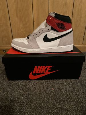 Jordan 1 Retro High Light Smoke Grey for Sale in Irving, TX