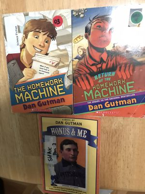 Books by Dan Gutman for Sale in Artesia, CA