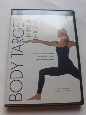 Body target hips & thighs workout Dvd for Sale in Lancaster, OH
