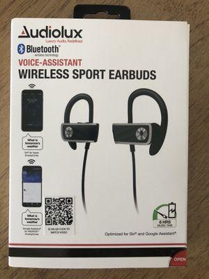 Audiolux Wireless Sport Earbuds $10 for Sale in Davie, FL